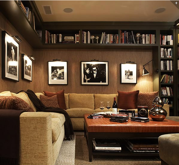 Interior Design Ideas For Home Theater: おしゃれでスタイリッシュな本棚