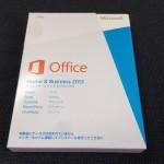 新しいOffice2013をインストールしてみました