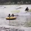ウェーブガーデンプールサーフィン