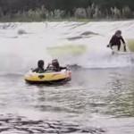 ウェーブガーデン プールサーフィン