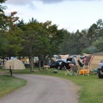 軽井沢キャンプクレストでキャンプ