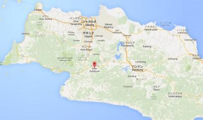 スカブミインドネシア