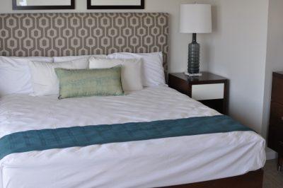 イリカイホテル宿泊ベッド