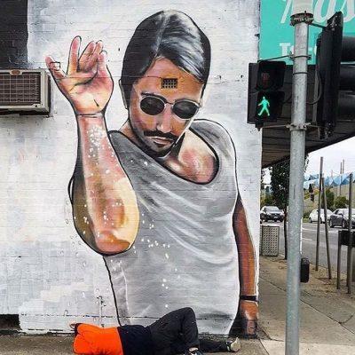 saltbae壁画